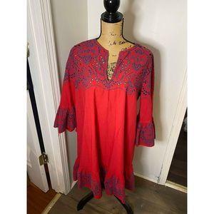 BCBGMaxazria dress.